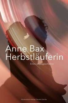 Anne Bax: Die Herbstläuferin, Buch