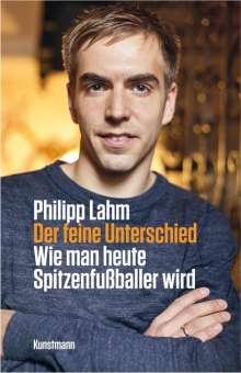 Philipp Lahm: Der feine Unterschied, Buch