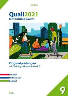 Quali 2021 - Mittelschule Bayern, Buch