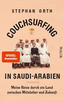 Stephan Orth: Couchsurfing in Saudi-Arabien, Buch