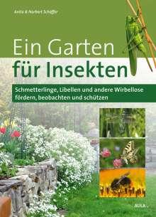 Anita Schäffer: Ein Garten für Insekten, Buch