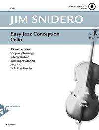 Jim Snidero: Easy Jazz Conception Cello, Buch
