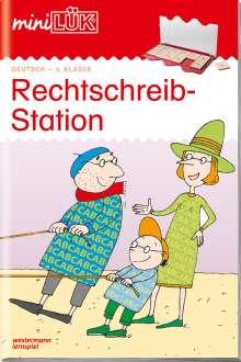 Heiner Müller: miniLÜK. Rechtschreibstation 4. Klasse, Buch