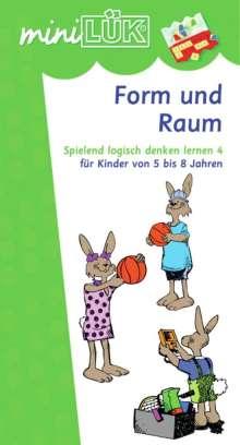 Ingrid Yi-Li Wang: miniLÜK. Spielend logisch denken lernen 4. Form und Raum, Buch