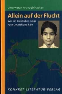 Umeswaran Arunagirinathan: Allein auf der Flucht, Buch