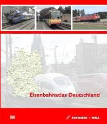 Eisenbahnatlas Deutschland, Buch