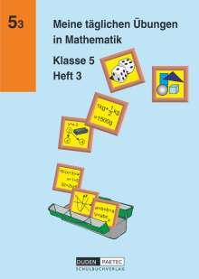Jochen Kreusch: Meine täglichen Übungen in Mathematik Klasse 5 Heft 3, Buch