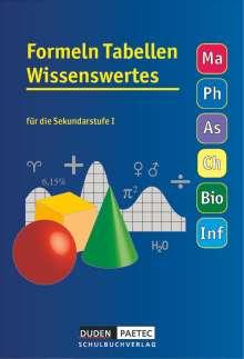 Uwe Bahro: Formelsammlung 5.-10. Schuljahr Tabellen Wissenswertes, Buch