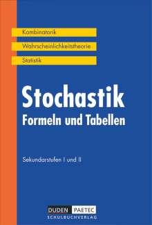 Irmhild Kantel: Stochastik. Formeln und Tabellen. Sekundarstufen I und II. RSR, Buch