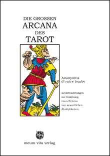Anonymus d`outre tombe: Die Grossen Arcana Des Tarot, Buch