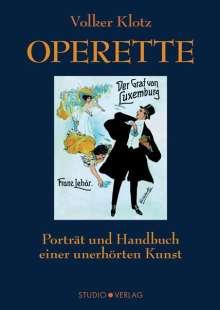 Volker Klotz: Operette, Buch