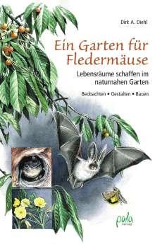 Dirk A. Diehl: Ein Garten für Fledermäuse, Buch