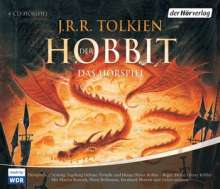John R. R. Tolkien: Der Hobbit. Sonderausgabe. 4 CDs, 4 CDs