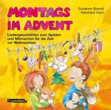 Susanne Brandt: Montags im Advent, CD