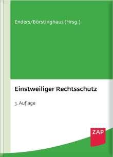 Jan Achsnick: Einstweiliger Rechtsschutz, Buch