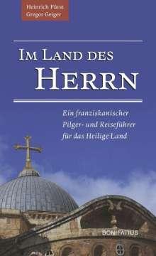 Gregor Geiger: Im Land des Herrn, Buch