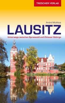 André Micklitza: Reiseführer Lausitz, Buch