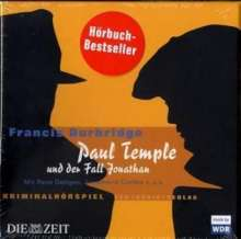 Francis Durbridge: Paul Temple und der Fall Jonathan. 4 CDs, CD