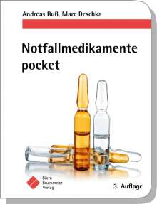 Marc Deschka: Notfallmedikamente pocket - Arzneimittel in der Notfallmedizin, Buch