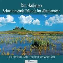 Roland Pump: Die Halligen, Buch