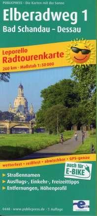 Elberadweg 1, Bad Schandau - Dessau 1 : 50 000, Diverse