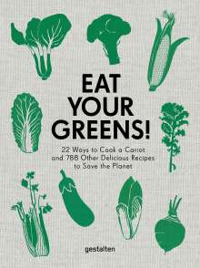 Anette Dieng: Eat Your Greens!, Buch