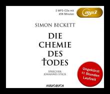 Simon Beckett: Die Chemie des Todes, 2 MP3-CDs