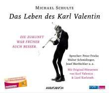 Michael Schulte: Das Leben des Karl Valentin (Sammelbox), 7 CDs