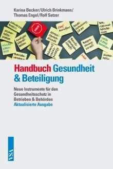 Karina Becker: Handbuch Gesundheit & Beteiligung, Buch