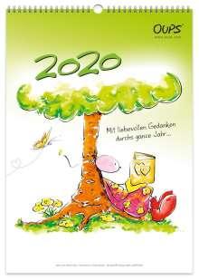 Kurt Hörtenhuber: Oups Wandkalender 2020, Diverse