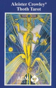 Aleister Crowley: Original Aleister Thoth Tarot. 80 Karten, Diverse