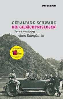 Géraldine Schwarz: Die Gedächtnislosen, Buch