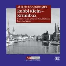 Alfred Bodenheimer: Rabbi Klein - Krimibox, 5 Diverse