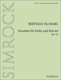 Sonatine für Viola und Klavier, Buch