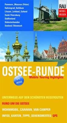 Werner Rau: Ostsee-Runde, Buch