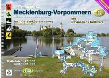 Erhard Jübermann: TourenAtlas Wasserwandern / TA6 Mecklenburg-Vorpommern, Buch