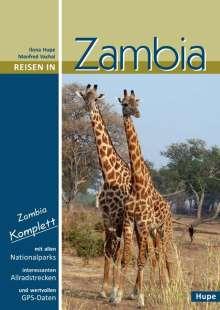Ilona Hupe: Reisen in Zambia, Buch