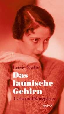Lessie Sachs: Das launische Gehirn, Buch