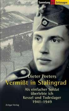 Dieter Peeters: Vermißt in Stalingrad, Buch