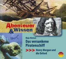 Maja Nielsen: Abenteuer & Wissen. Das versunkene Piratenschiff. Gerstenberg Edition, CD