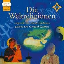 Arnulf Zitelmann: Die Weltreligionen. 5 CDs, 5 CDs