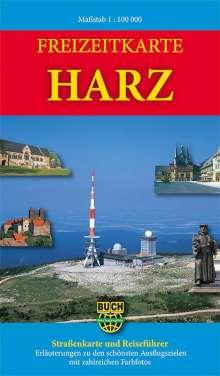 Bernhard Spachmüller: Freizeitkarte Harz 1: 100 000, Diverse