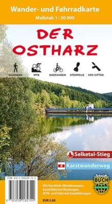 Ostharz 1 : 30 000 Wander- und Fahrradkarte, Diverse