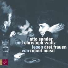 Robert Musil: Drei Frauen - 3 CDs, CD