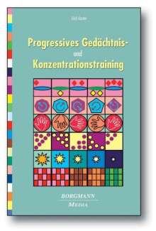 Erich Kasten: Progressives Gedächtnis- und Konzentrationstraining, Buch