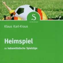 Klaus Karl-Kraus: Heimspiel, CD