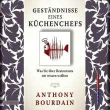 Anthony Bourdain: Geständnisse eines Küchenchefs, 5 CDs