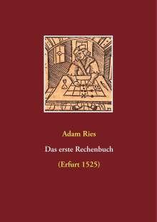 Adam Ries: Das erste Rechenbuch, Buch