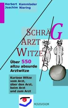Joachim Niering: Schräg-Arzt-Witze, Buch