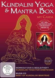 Kundalini Yoga & Mantra Box, 1 DVD und 1 CD